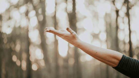 Hands Down, Hands Up Prayer | A New Year's Meditation