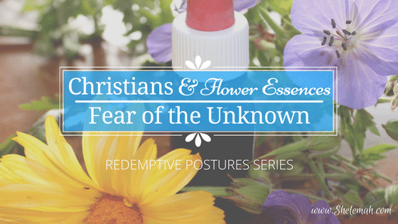 Christians and Flower Essences: Fear of the Unknown | Redemptive Postures Series