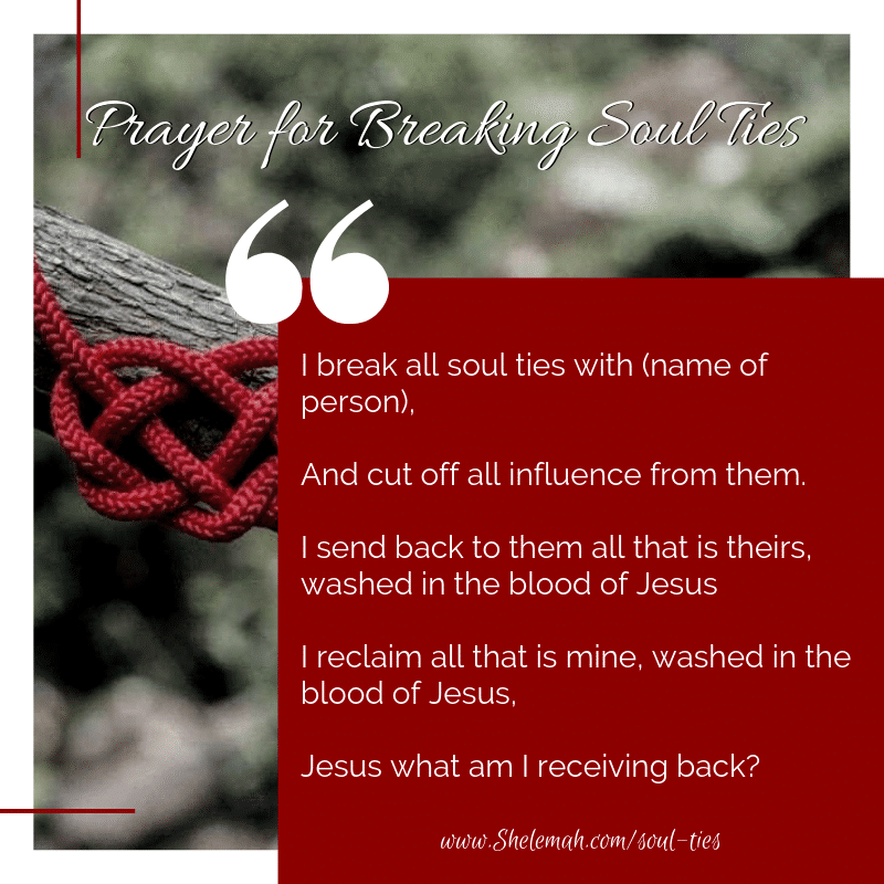 Untangling Soul Ties | Prayer for breaking soul ties | Soul