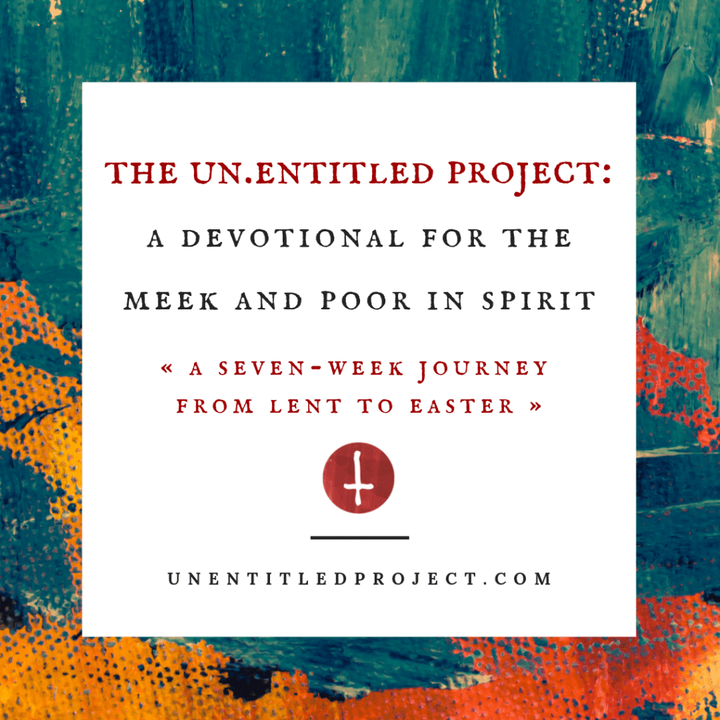 unentitled project lent devotional